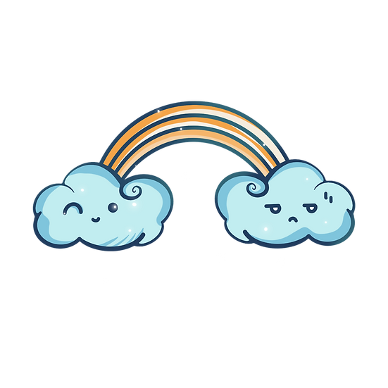 Cute Hand Drawn Clouds - Free PNG Images, Transparent Image Digital Download