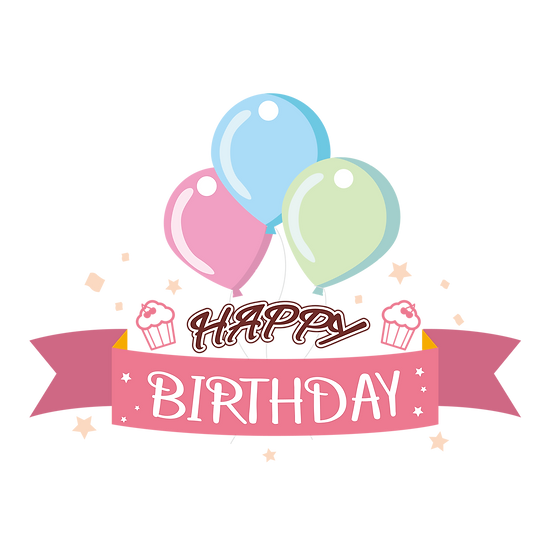 Incredible Birthday Greeting Card - PNG Transparent Image - Digital Download