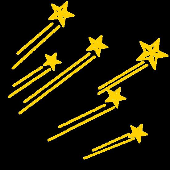 Shooting Stars - Free PNG Images, Transparent Image Digital Download