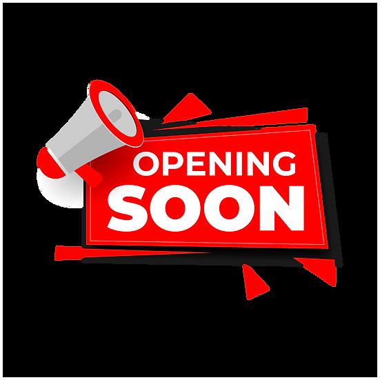 Opening Soon Banner - Free PNG Images, Transparent Image Digital Download