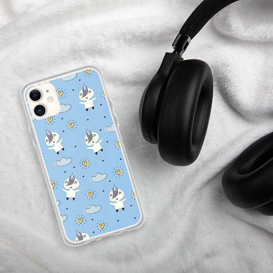 Little Unicorn Blue iPhone Cases1