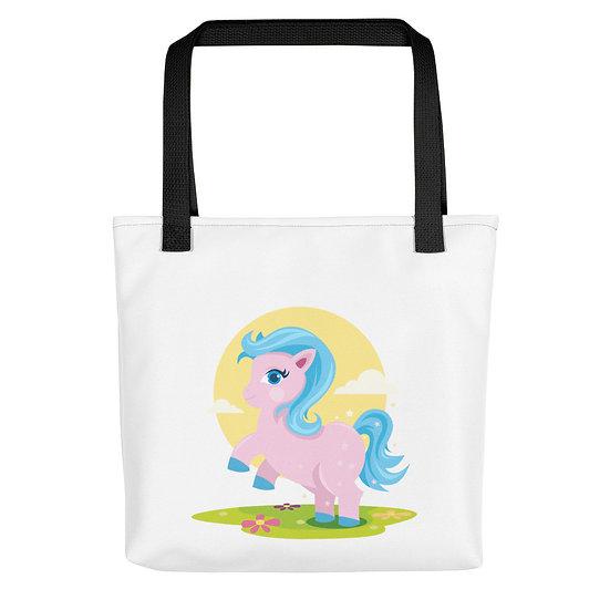 Unicorn in Field Tote bag
