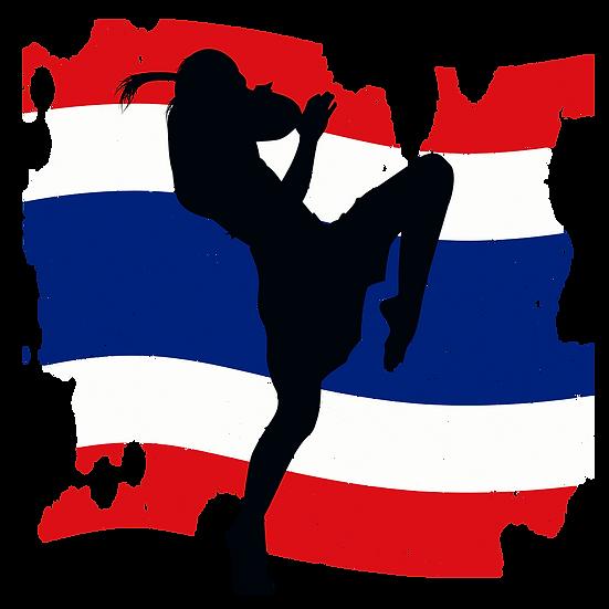 Muay Thai Fighter Logo Free PNG Images - Free Digital Image Download
