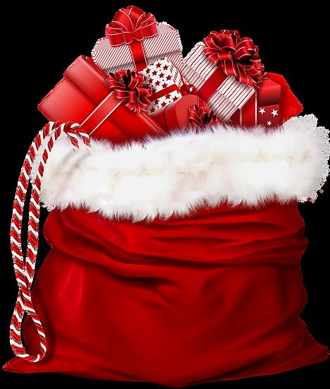 Santa's Bag of Toys Free PNG Images - Free Digital Image Download