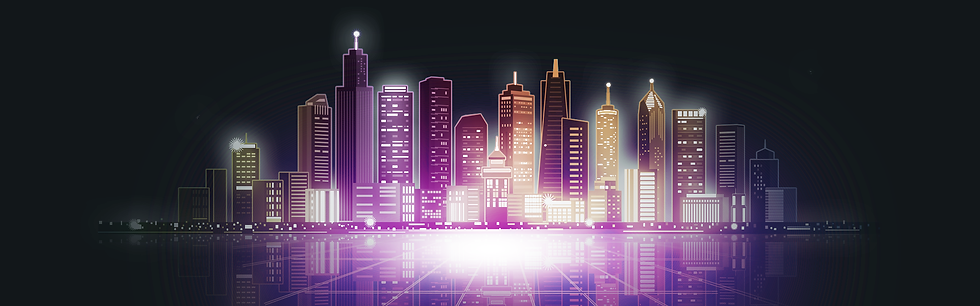 City Lights at Night Background - Free PNG Images, Digital Download