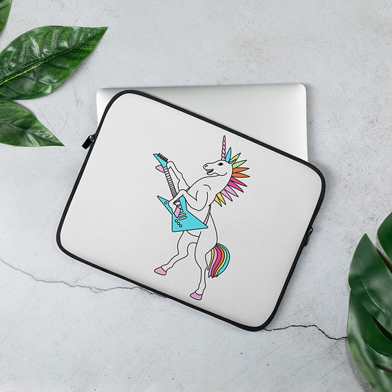 Punk Rock Unicorn Laptop Sleeve for MacBook, HP, ACER, ASUS, Dell, Lenovo