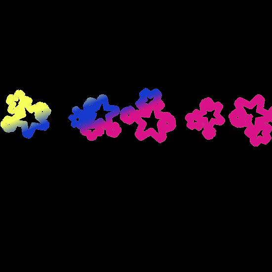 Glowing Stars Illustration - Free PNG Images, Transparent Image Instant Download