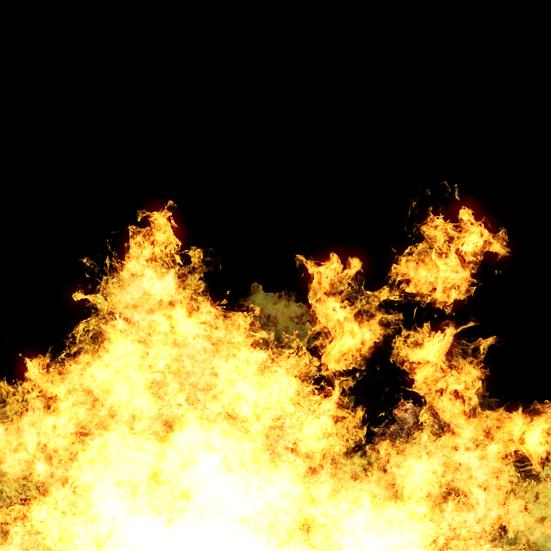 Realistic Burning Flame- Free PNG Fire Image, Transparent Image Digital Download