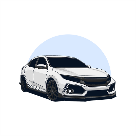 Powerful White Sports Car - Free PNG Images, Transparent Image Digital Download
