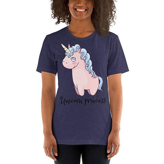Unicorn Princess Design Short-Sleeve Women's T-Shirt 2