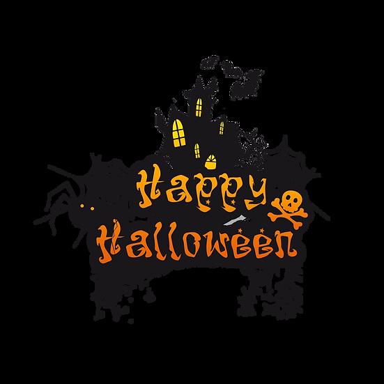 Happy Halloween Printables PNG Image  - Editable / Downloadable