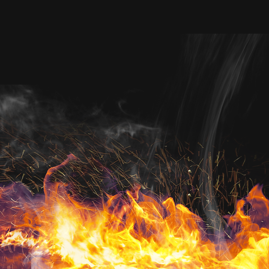 Amazing Gradient Fire Flames - Free PNG Images, Digital Download