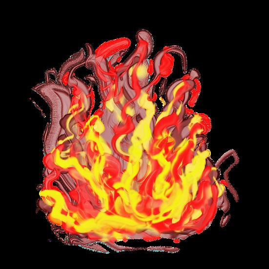 Stunning Fire Flame - Free PNG Images, Transparent Image Digital Download