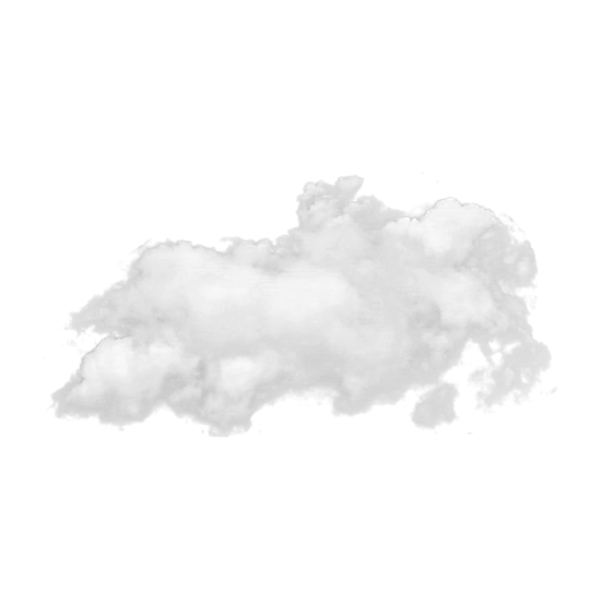 White Smoke Cloud Clipart - Free PNG Images, Transparent Image Instant Download
