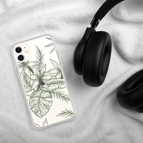Clear Floral iPhone Cases1