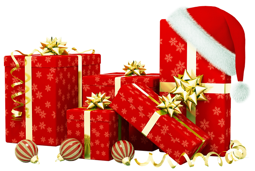 Christmas Gifts Free PNG Images - Free Digital Image Download