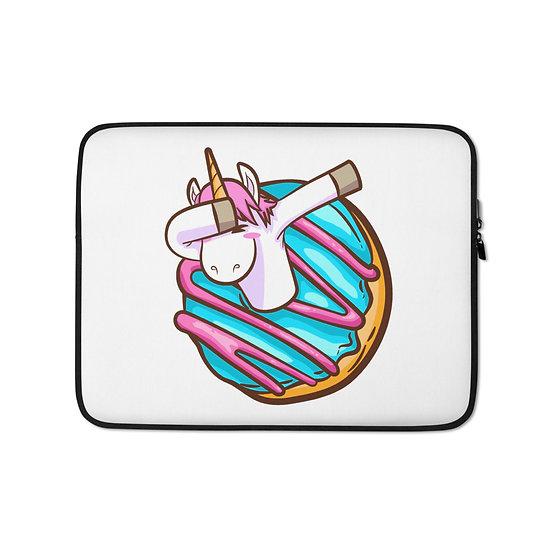 Unicorn Donut Laptop Sleeve for MacBook, HP, ACER, ASUS, Dell, Lenovo