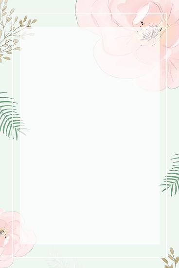 Pastel Flower Background - Free PNG Images, Instant Download