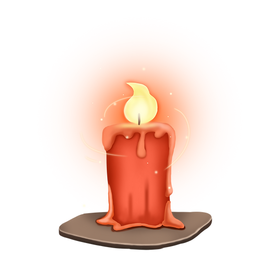 Magical Candle - Free PNG Fire Images, Transparent Image Digital Download
