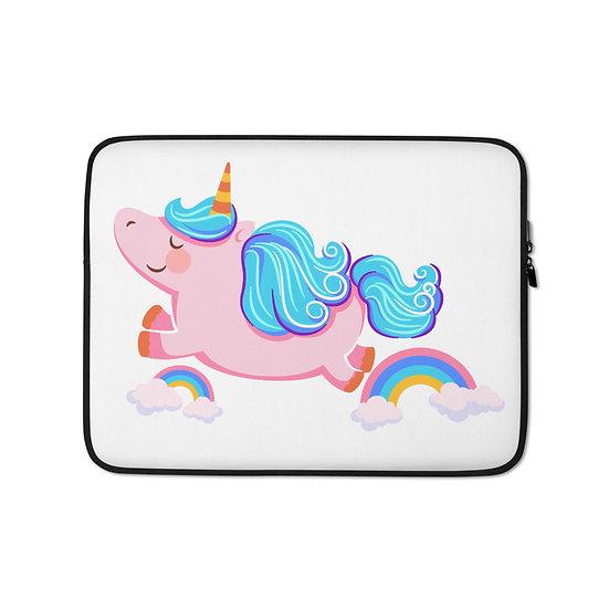 Joyful Unicorn Laptop Sleeve for MacBook, HP, ACER, ASUS, Dell, Lenovo