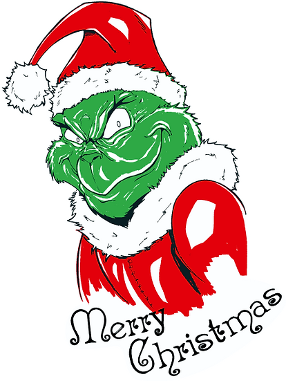 Merry Christmas Grinch PNG Santa Claus - Free PNG Images Digital Image Download