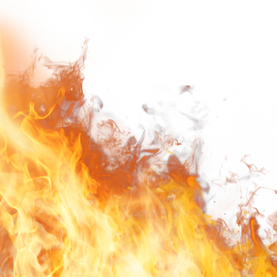 Realistic Burning Flame - Free PNG Images, Transparent Image Instant Download