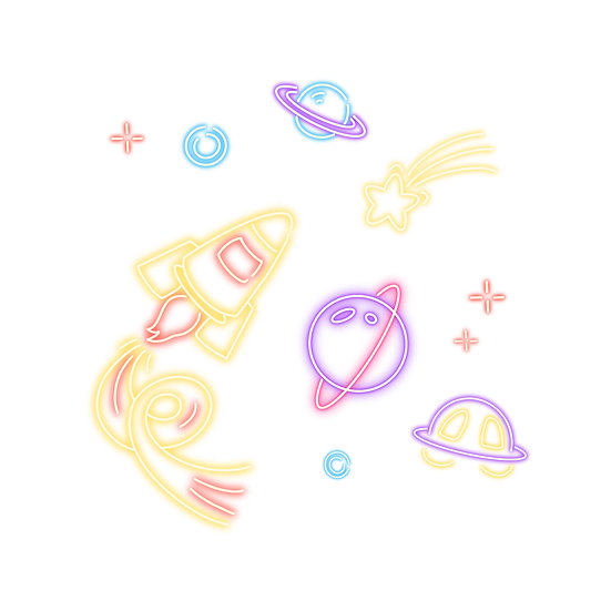 Galaxy Art with Stars and Planets - Free PNG Transparent Image, Digital Download