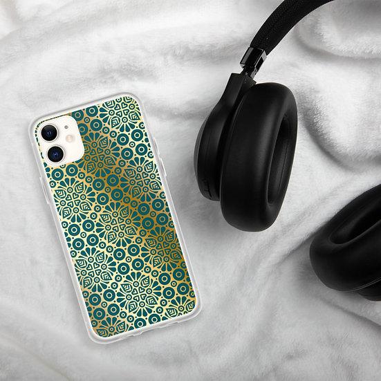Golden Mandala iPhone Cases1