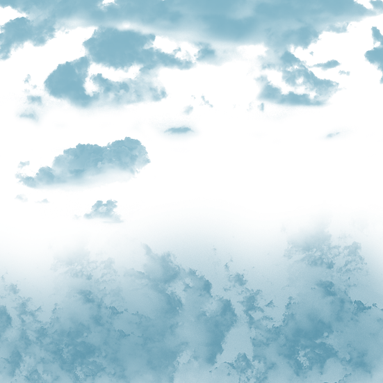 Blue Gradient Clouds - Free PNG Images,Instant Download