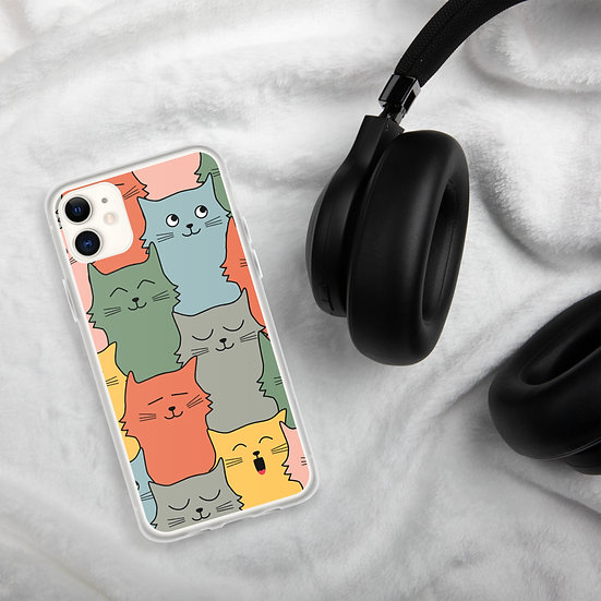 Funny Cats iPhone Cases1