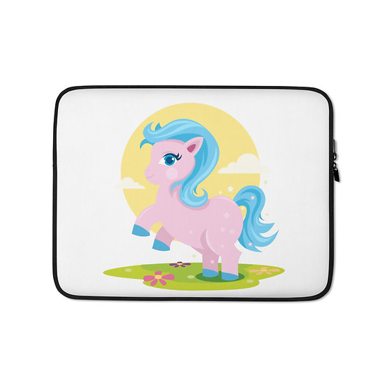 Unicorn in the Field Laptop Sleeve for MacBook, HP, ACER, ASUS, Dell, Lenovo