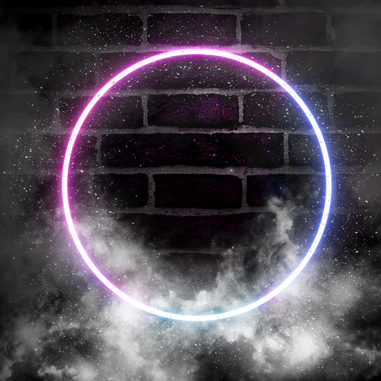 Abstract Neon Light Wall with Smoke - Free PNG Images, Instant Download