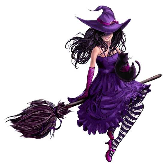 Halloween Witch Free PNG Images - Free Digital Image Download