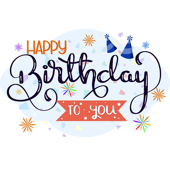Miraculous Birthday Clipart - PNG Transparent Image - Digital Download