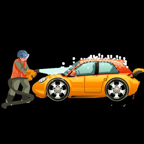 Car Wash Clipart - Free PNG Images, Transparent Image Digital Download