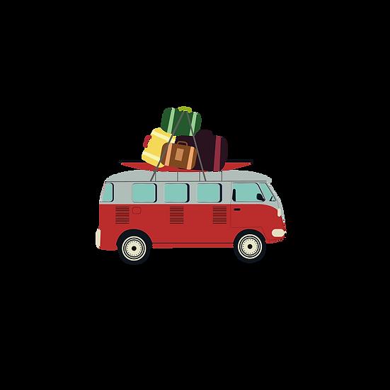 Traveling by Car - Free PNG Images, Transparent Image Digital Download