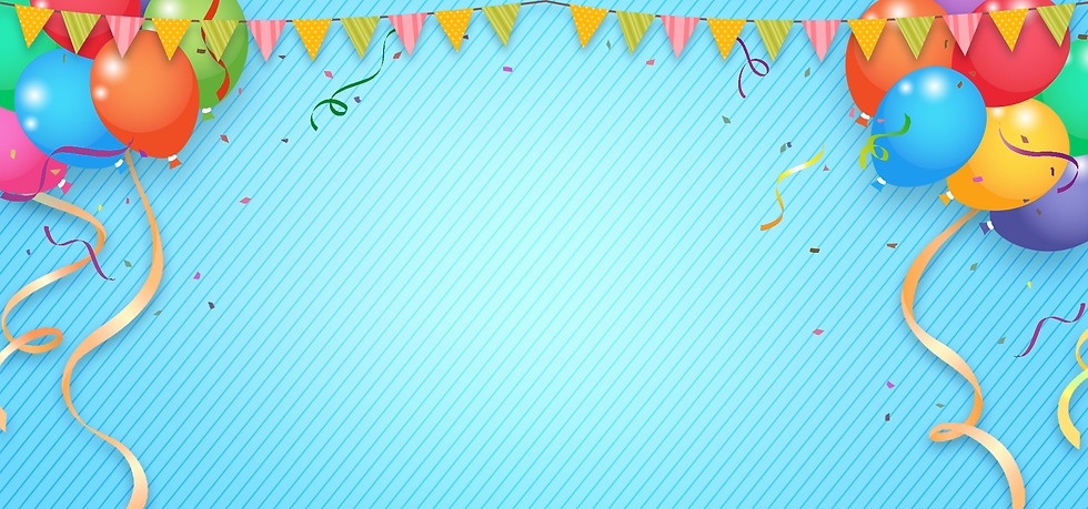 Birthday Background with Balloons - Free PNG Images, Digital Download