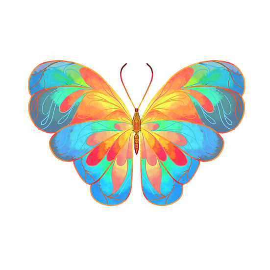 Awesome Butterfly - Free PNG Images, Transparent Image Digital Download