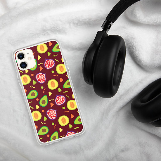 Avocado Colorful Phone Cases for iPhone1