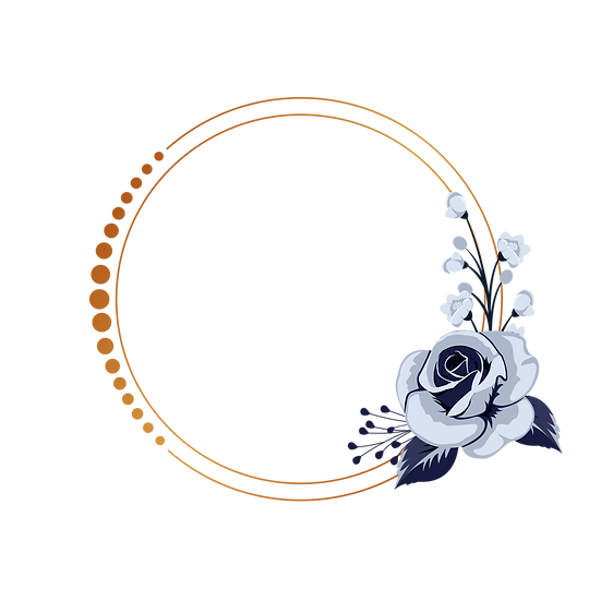 Fantastic Circle with Rose - Free PNG Images, Transparent Image Instant Download