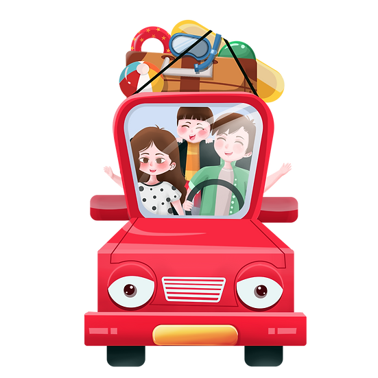 Family Vacation - Free PNG Car Images, Transparent Image Digital Download