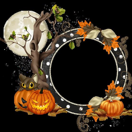Halloween Greeting Card Free PNG Images - Free Digital Image Download