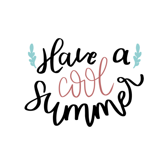 Have a Cool Summer - Free PNG Images, Transparent Image Instant Download