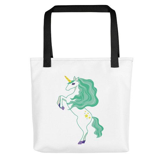 Beautiful Green Unicorn Tote bag
