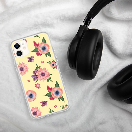 Paradise Flowers iPhone Cases1
