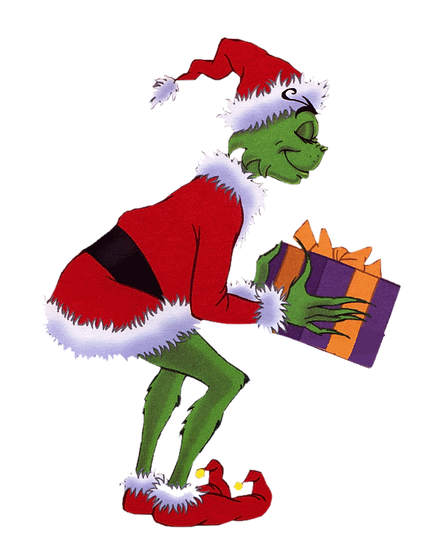 The Grinch Xmas PNG  - Free PNG Images Digital Image Download