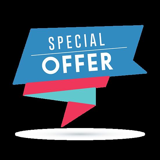 Special Offer Great Banner - Free PNG Images, Transparent Image Digital Download