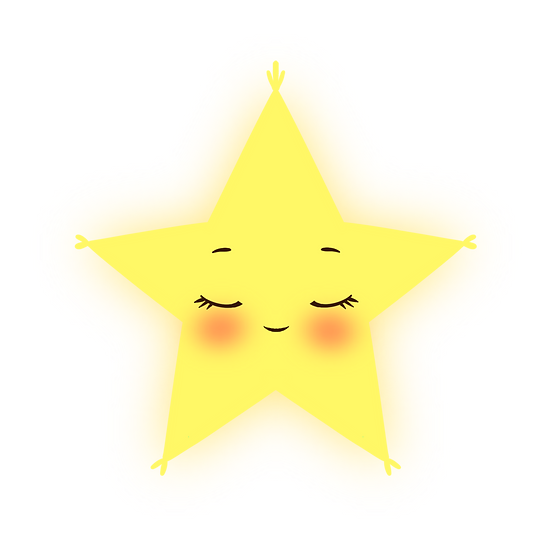Peaceful Star Clipart - Free PNG Images, Transparent Image Instant Download
