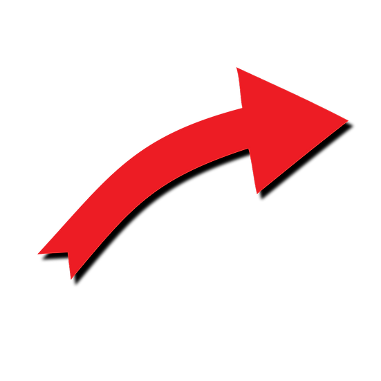 Red Arrow Clipart - Free PNG Images, Transparent Image Digital Download