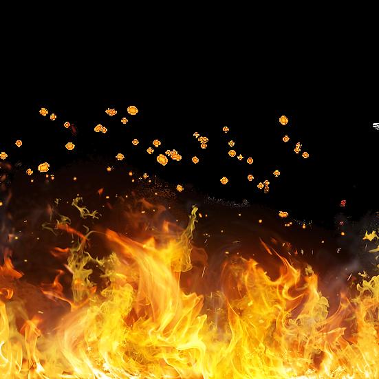 Sparks of Flames - Free PNG Fire Images, Transparent Image Instant Download